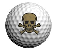 Golfdotz Golf Ball ID (Skull Mania)