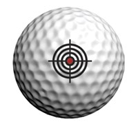 Golfdotz Golf Ball ID (Targets)