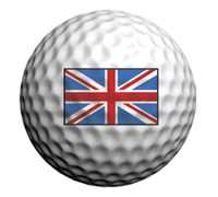 Golfdotz Golf Ball ID (UK (Union Jack))