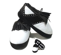 Golf Slippers (Black)