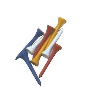 Golf Wooden Tees 69mm (40pk)