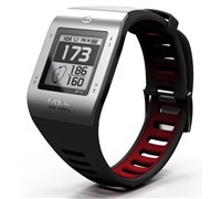 GolfBuddy WT4 Golf GPS Fashion Watch (Black/Silver)