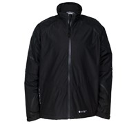 Hi-Tec Mens Dri-Tec GR500 Waterproof Full Zip Jacket (Black/Black)