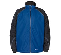 Hi-Tec Mens Dri-Tec GR500 Waterproof Full Zip Jacket (Black/Royal)