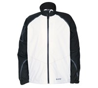 Hi-Tec Mens Dri-Tec GR500 Waterproof Full Zip Jacket (Black/White)