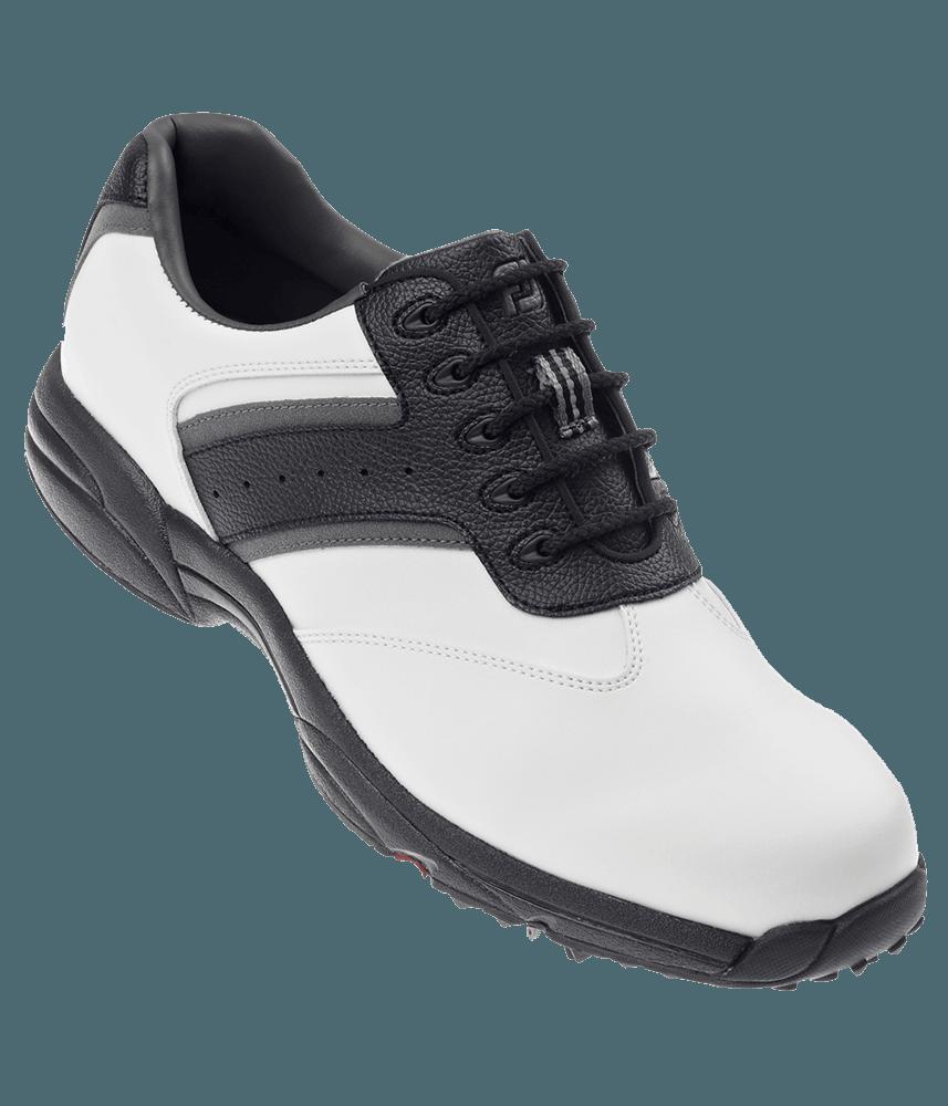 footjoy mens greenjoys golf shoes white black charcoal 2012