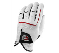 Wilson Staff Grip Plus Golf Gloves 2014 (White)