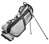 Ogio Grom Golf Hybrid Stand Bag 2014 (White/Charcoal)