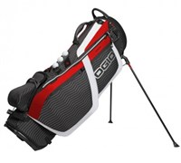 Ogio Grom Golf Hybrid Stand Bag 2014 (Black/Red/White)