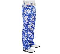 Royal And Awesome Hawaii Five Oh Golf Trouser (Blue/White)