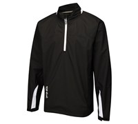 Ping Collection Mens Hydro Half-Zip Waterproof Jacket (Black)
