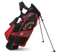 Callaway Golf Hyper-Lite 3 Stand Bag 2014 (Black/Charcoal/Red)