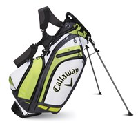 Callaway Golf Hyper-Lite 5 Stand Bag 2014 (White/Lime)