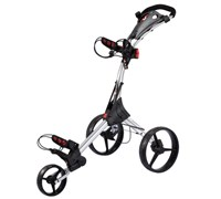Big Max IQ 3-Wheel Lightweight Trolley (Silver)