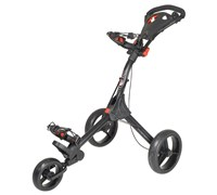 Big Max IQ 3-Wheel Lightweight Trolley (Black)