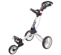 Big Max IQ 3-Wheel Lightweight Trolley (White)