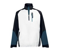 Stuburt Mens Helium Tour Waterproof Half Zip Jacket (White/Black)