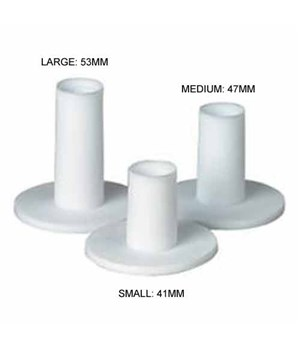 Rubber Tees 3 Pack (Small-Medium-Large)