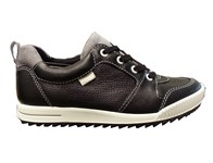 Ecco Golf Junior Street Shoes (Black/Grey) 2014