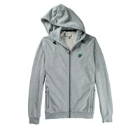 Lyle and Scott Mens Zip Through Hoodie 2013 (Cool Grey Melange)