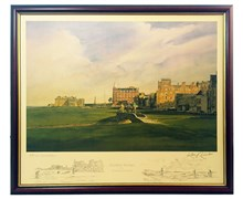 Kenneth Reed - Golf Series Prints (Swilkin Bridge)