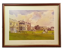 Kenneth Reed - Golf Series Prints (1st Tee R and A Golf Club)