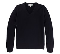 Lyle and Scott Mens Classic Lambswool V-Neck Jumper 2014 (New Navy)