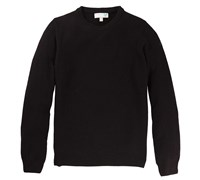 Lyle and Scott Mens Classic Lambswool Crew Neck Jumper 2014 (Black)