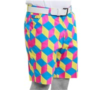 Royal And Awesome Knicker Blocker Glory Golf Shorts (Multi Coloured)