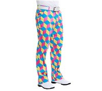 Royal And Awesome Knicker Blocker Glory Golf Trouser (Multi Coloured)