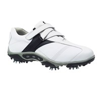 FootJoy Ladies Contour Golf Shoes (White/Black/Velcro)