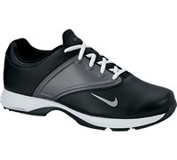 Nike Ladies Lunar Saddle Golf Shoes 2014 (Black/Metallic Silver-Dark Grey)