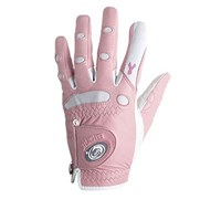 Bionic Ladies StableGrip Pink Ribbon Classic Golf Gloves (Pink)
