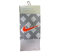 Nike Ladies Reactive Print Golf Towel (White/Black)