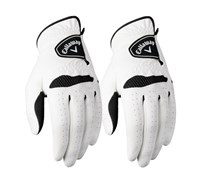 Callaway Ladies Xtreme 365 Golf Gloves (White/Black)