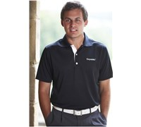Stromberg Mens La Manga Cool Dry Golf Shirt (Black)