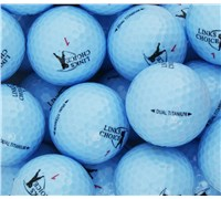 Links Choice Coloured Optic Golf Balls (Blue)