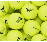 Links Choice Coloured Optic Golf Balls (Yellow)