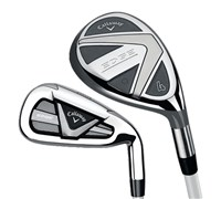Callaway Ladies Edge Hybrid Combo Iron  Graphite Shaft