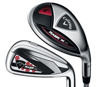Callaway Ladies RAZR HL Hybrid Combo Iron Set 2013  Graphite Shaft