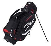 Titleist Lightweight Golf Stand Bag 2015 (Black/Red)