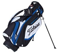 Titleist Lightweight Golf Stand Bag 2015 (Black/White/Blue)