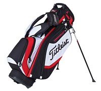 Titleist Lightweight Golf Stand Bag 2015 (Black/White/Red)