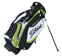 Titleist Lightweight Golf Stand Bag 2015 (Black/White/Green)