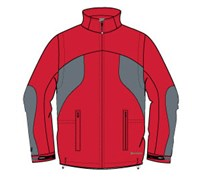 Sunice Mens Lyneham Waterproof Convertible Jacket (Poppy)