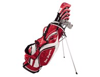 Ben Sayers M11 Red Package Set (Steel/Graphite)