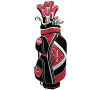 Ben Sayers M15 Red Package Set (Cart Bag)