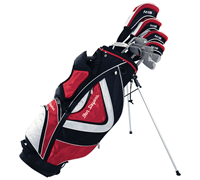 Ben Sayers M15 Red Package Set (Stand Bag)