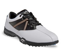 Callaway Mens Chev Comfort Golf Shoes 2014 (White/Black)