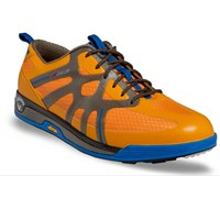 Callaway Mens X Cage Vibe Spikeless Golf Shoes 2014 (Yellow/Grey)